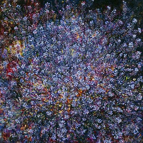Paintings / Málverk by Eggert Pétursson