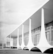 Brasilia by Lucien Clergue and Oscar Niemeyer