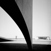 Brasilia by Lucien Clergue and Oscar Niemeyer