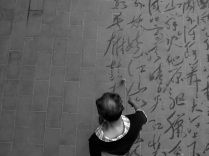 Dishu - Ground Calligraphy in China by Francois Chastanet