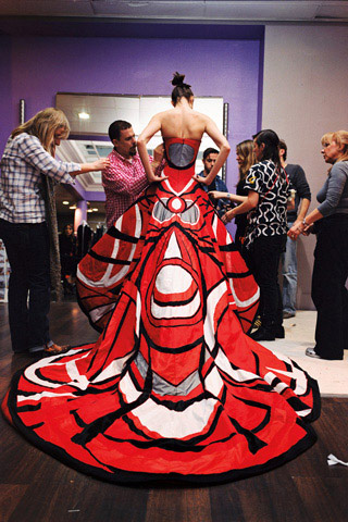 Alexander McQueen - Working Process Photographs by Nick Waplington